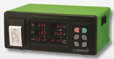 Carman NGA6000 Gas Analyzer